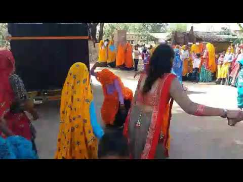 Enjoying meena girls dancing alwar