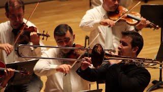 Ricardo Mollá plays Leopold Mozart Concerto for Alto Trombone.