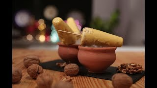 Pumpkin and Walnut Kulfi  Cooking with California Walnuts  Sanjeev Kapoor Khazana