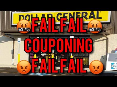 DOLLAR GENERAL COUPONING BIG FAIL FAIL