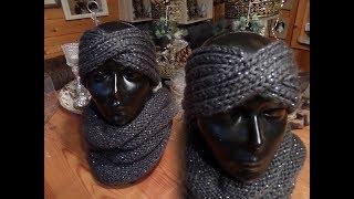 Stirnband Häkeln Patentmuster