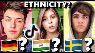 GUESS MY ETHNICITY TikTok Challenge 🌏😱 *i lost...*