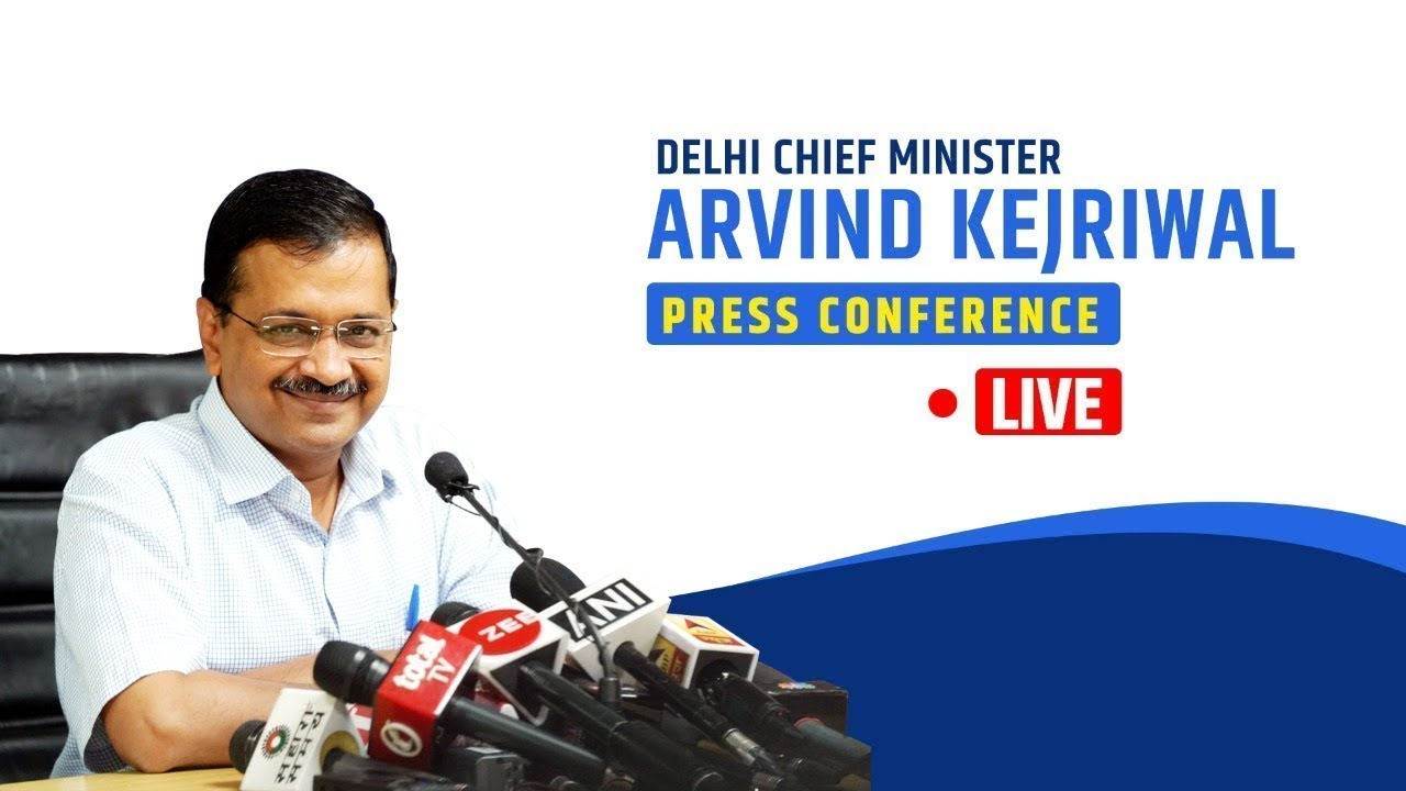 Press Conference: CM Arvind Kejriwal LIVE