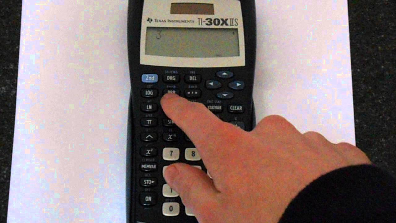 How To Calculate Standard Deviation On Ti 83 Standard Deviation Calculator  Casio Fx 82au Sample Ti30x Iis: Factorials