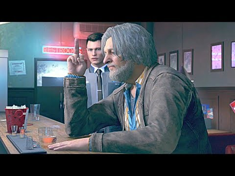 Detroit Become Human - Connor & Hank Anderson Funny Moments