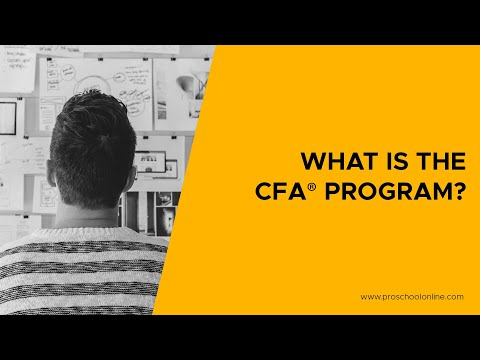 What is CFA