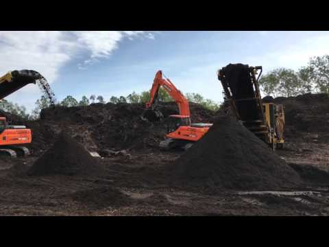 MW Horticulture producing organic compost