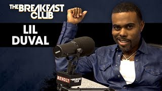 Comedian and singer Lil Duval stopped by The Breakfast Club to boast about his Platinum record 'Smile (Living My Best Life).' Duval also talks about the recent ...