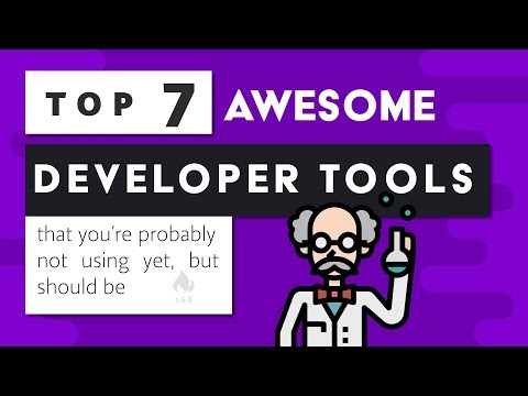 7 Amazing Developer Tools that you're not using yet
