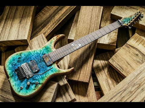 Building a custom guitar - The Skervesen documentary 4K