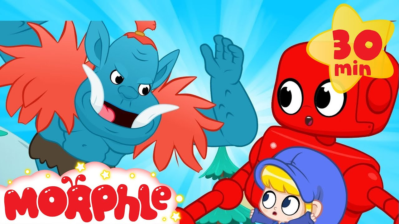 Mountain Giant! - My Magic Pet Morphle | Cartoons For Kids | Morphle | Mila and Morphle