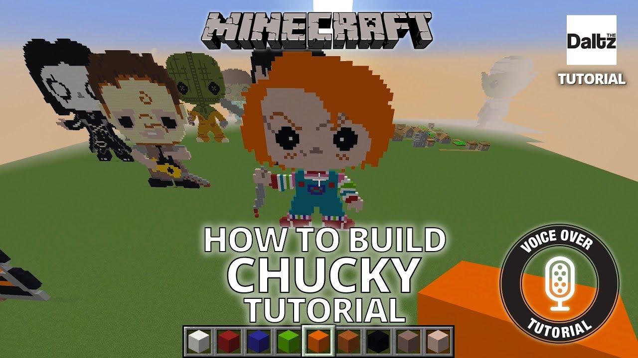 Minecraft Pixel Artwork   Chucky Remake   Voice Information