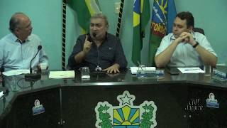 Presidente da câmara Seu João Lançamento do programa SINALIZE em Quixeré