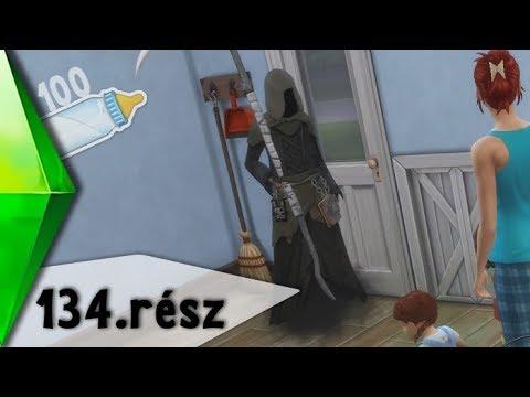 The Sims 4 - 100 Baba Kihívás - Újra itt a kaszás... 💀- 134. rész