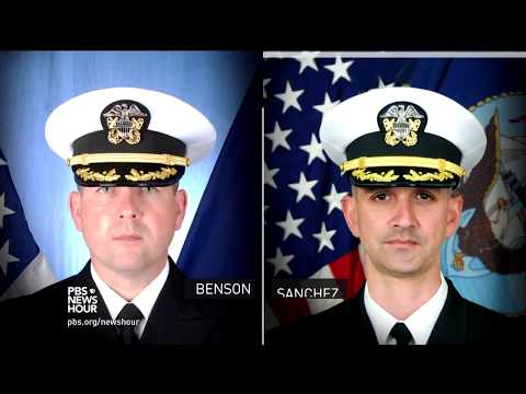 Harsh legal charges for U.S. Navy ship collisions send tough message