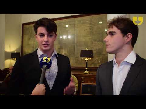 Harry Percy and Matthew Cauldwell - Remembering Rhinos at Royal Geographical Society by WinkBall