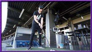 I'VE NEVER SEEN THIS HAPPEN BEFORE AT TOPGOLF! | Brooks Holt