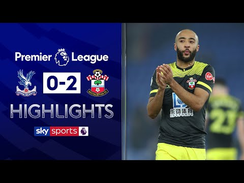 Redmond scores stunner! | Crystal Palace 0-2 Southampton | Premier League Highlights