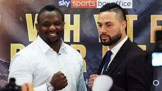 Dillian Whyte vs Joseph Parker FULL PRESS CONFERENCE -  boxing