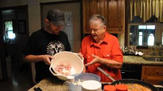 How To Cook Grandma's Fried Chicken...