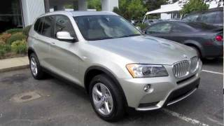 2011 BMW X3 X-drive 28i Start Up, Engine, and In Depth Tour