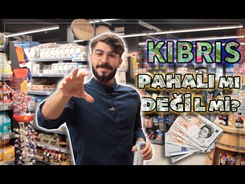 A'DAN Z'YE GÜNCEL KIBRIS MARKET FİYATLARI!!! (Türkiye Ile Fark...)