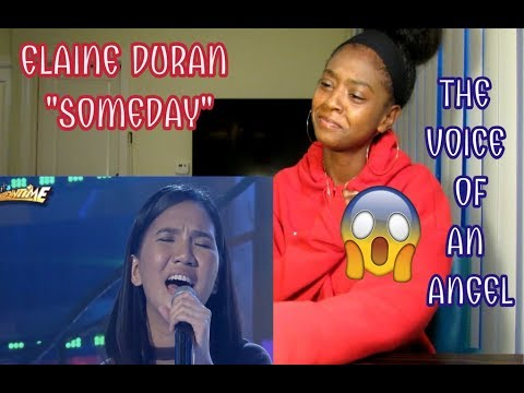 Elaine Duran - Someday (REACTION)