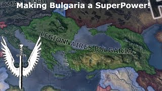 The Bulgarian Empire Created in Hoi4 (Speedrun/Timelapse)