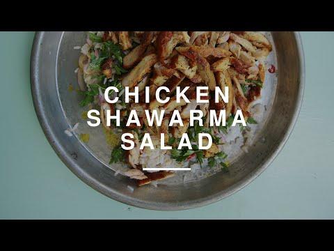 Michal Ansky Chicken Shawarma Salad | Gizzi Erskine | Wild Dish
