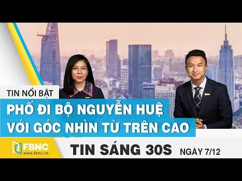 Tin tức   Bản tin sáng 7/12   Phố đi bộ Nguyễn Huệ khác biệt với góc nhìn từ trên cao   FBNC