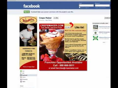 How to create an html dynamic restaurant Facebook landing page