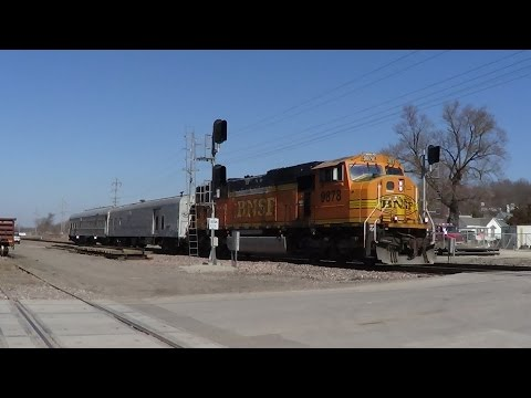 BNSF Geometry Train at Ottumwa, Iowa