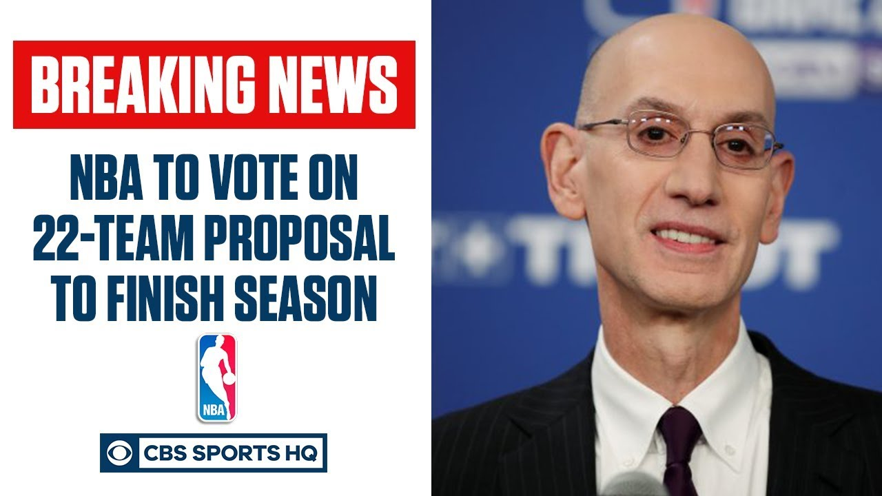 NBA approves 22-team format to finish season