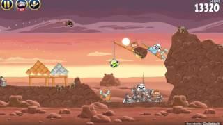 Проходим игру star wars angry birds  1 серия