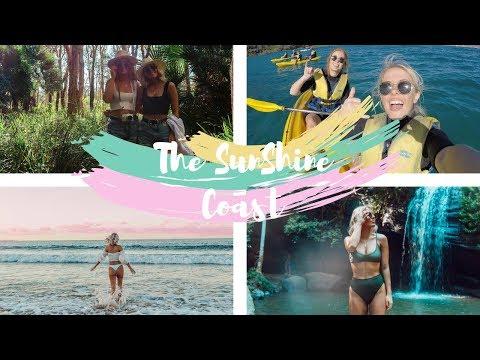 Travelling Australia, Sunshine Coast Minyon Falls, Noosa Everglades, Rainbow Beach!