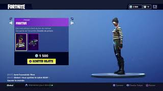 FORTNITE Shop on August 14 SKIN FUGITIVE-CORBEAU