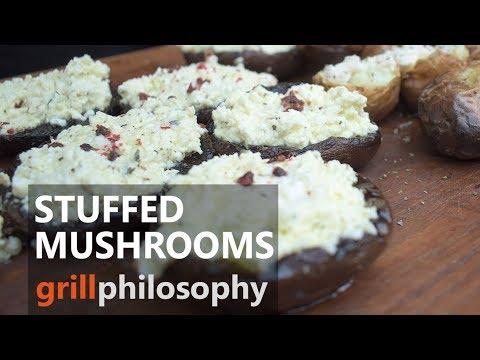 Stuffed portobello mushrooms grilled | Grill philosophy
