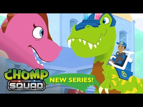 NEW Series! - Chomp Squad - 'Dino Crossing'🚦 Episode 3