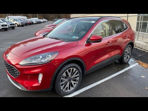 2020 Ford Escape Titanium Review The Best Escape Yet!!