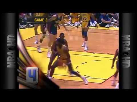 James Worthy's 1988 Finals MVP Top 10 Plays