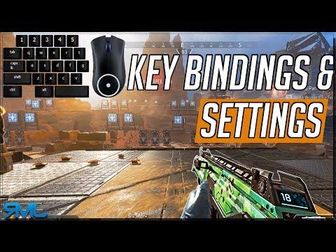 Settings and Key Bindings - Apex Legends Optimal Keybinds - Apex Legends Tutorials - 동영상