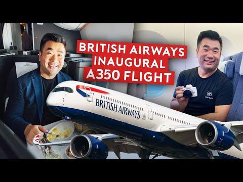 British Airways A350-1000 First Flight