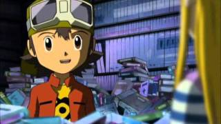 [ENG Subbed] Digimon Frontier episode 46 Scene with Takuya and Izumi(Zoe)