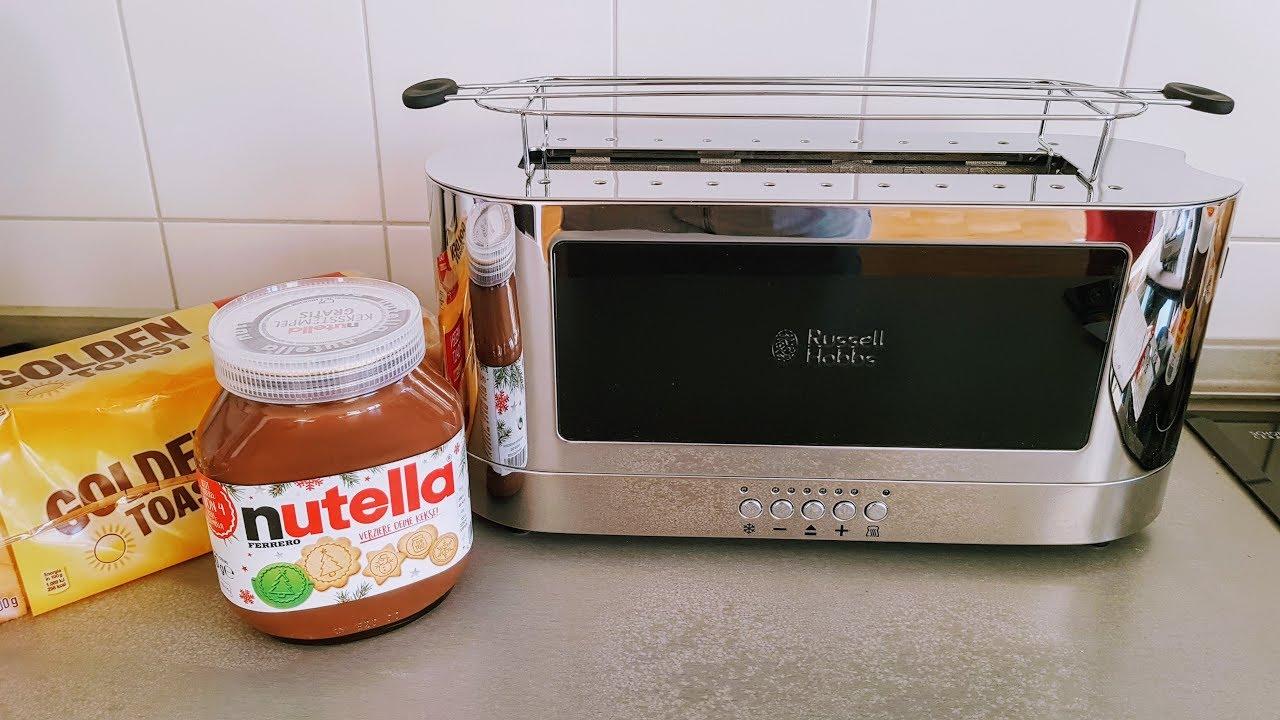 russell hobbs elegance toaster zeitvergleich mit anderem toaster youtube. Black Bedroom Furniture Sets. Home Design Ideas