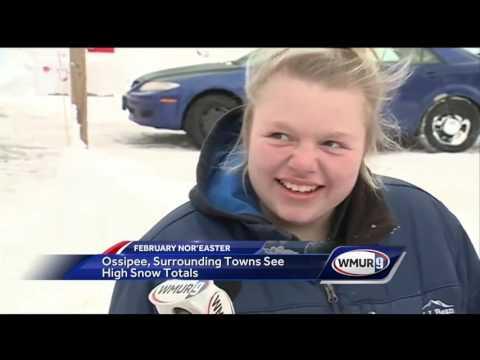 Heavy snow hits Ossipee again