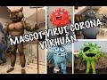 Mascot Virut Corona-Mascot Virus costumes