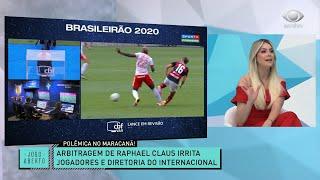 RENATA FICA NA BRONCA COM A ARBITRAGEM NO MARACANÃ | JOGO ABERTO
