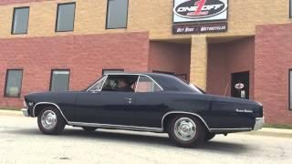 1966 Chevelle SS 396 v8 massive burnout