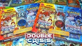 Ouverture de 2 Quadripacks Pokémon Double Crisis - TEAM AQUA VS TEAM MAGMA !