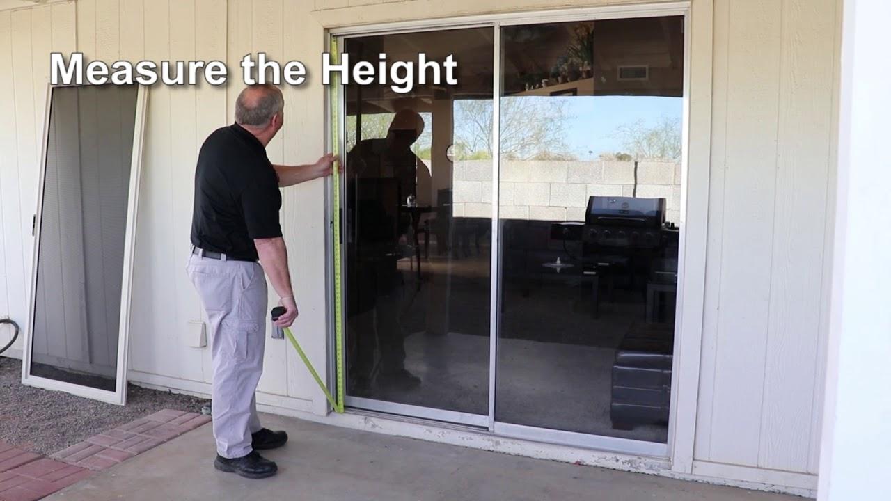 How to Measure For a Meshtec Patio Screen Door